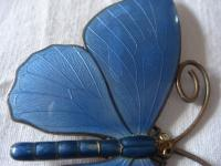 Very Large Marius Hammer Enamel Butterfly (7 of 7)