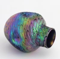 Loetz Secessionist Phaenomen Iridescent Glass Vase in Décor Pg7734 C1898 (3 of 9)