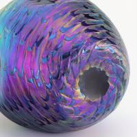 Loetz Secessionist Phaenomen Iridescent Glass Vase in Décor Pg7734 C1898 (7 of 9)