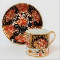 Spode Imari Coffee Cup & Saucer C.1820