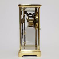 Brass Four Glass French Striking Mantle Clock C.1870 (7 of 11)