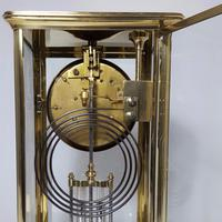 Brass Four Glass French Striking Mantle Clock C.1870 (11 of 11)