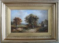 Joseph Thors English Landscape Oil Painting
