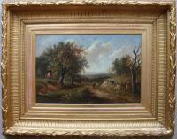 Joseph Thors English Landscape Godalming Surrey Oil Painting