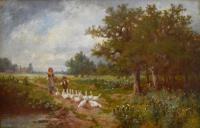 James Seymour Adam's Oil Painting (6 of 6)