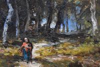 Paolo Manzoni Barbizon School Landscape c.1880 (8 of 10)