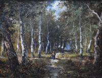 Paolo Manzoni Barbizon School Landscape c.1880 (2 of 10)