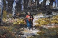 Paolo Manzoni Barbizon School Landscape c.1880 (3 of 10)