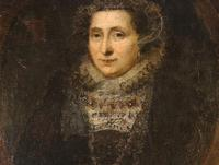 16th Century Mary Queen of Scots Oil on Canvas