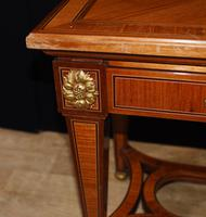 Pair of French Empire Console Tables c.1890 (5 of 7)