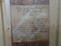 S.S Kerr. Antique Original Chalk & Pencil Portrait c.1821 (10 of 11)