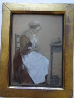 S.S Kerr. Antique Original Chalk & Pencil Portrait c.1821 (2 of 11)