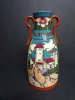 Frederick Rhead for Foley Intarsio. Shakesperean Vase. Early 20th Century (2 of 12)