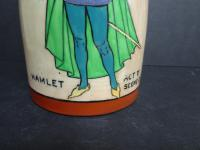 Frederick Rhead for Foley Intarsio. Shakesperean Vase. Early 20th Century (6 of 12)