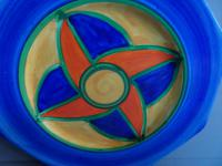 Clarice Cliff Original Bizarre Plate, Very Early Example, 1928 (5 of 9)