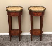 French Pair of Urn Stands