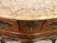 Stunning French Bombe Commode Chest of Drawers Marble Ormolu Louis XV Style (8 of 15)