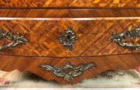 Stunning French Bombe Commode Chest of Drawers Marble Ormolu Louis XV Style (10 of 15)