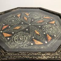 Vintage Moorish Inlaid Side Table (5 of 11)