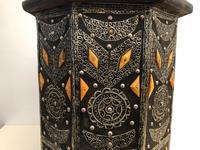 Vintage Moorish Inlaid Side Table (8 of 11)