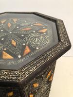 Vintage Moorish Inlaid Side Table (6 of 11)