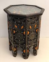 Vintage Moorish Inlaid Side Table (2 of 11)