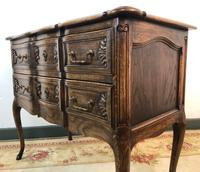 French Serpentine Petite Commode Louis Style Chest of Drawers (7 of 15)