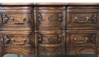 French Serpentine Petite Commode Louis Style Chest of Drawers (13 of 15)