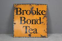 Brooke Bond Tea Enamel Sign C.1930