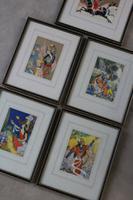 Framed Iranian Legends Vintage Prints