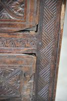 Large Antique Carved Oak Hall Robe (4 of 11)