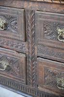 Large Antique Carved Oak Hall Robe (5 of 11)