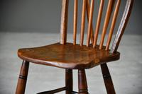 Hoop & Stick Back Kitchen Chair (10 of 10)