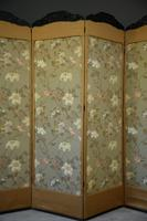 Oriental Four Panel Screen Room Divider (2 of 12)