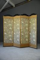 Oriental Four Panel Screen Room Divider (9 of 12)