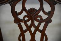 Set 8 Chippendale Style Dining Chairs (4 of 11)