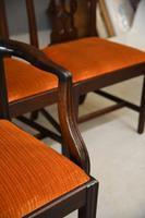 Set 8 Chippendale Style Dining Chairs (8 of 11)