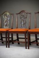 Set 8 Chippendale Style Dining Chairs (9 of 11)