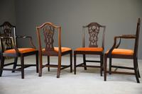 Set 8 Chippendale Style Dining Chairs (10 of 11)