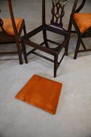 Set 8 Chippendale Style Dining Chairs (7 of 11)