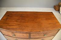 Antique Mahogany Bow Front Chest of Drawers (2 of 13)