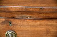 Antique Mahogany Bow Front Chest of Drawers (4 of 13)