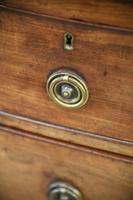 Antique Mahogany Bow Front Chest of Drawers (7 of 13)