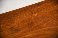 Victorian Mahogany Two Drawer Side Table (10 of 11)