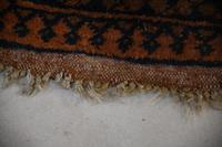 Gold Afghan Wool Rug (5 of 9)