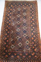 Gold Afghan Wool Rug (9 of 9)