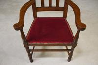 Early 20th Century Oak Carver Chair (5 of 10)