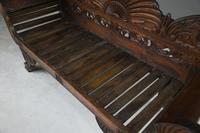 Anglo Indian Hardwood Sofa (8 of 13)