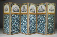 Antique French Floral Screen
