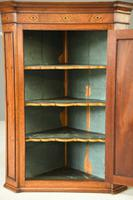 Antique Georgian Mahogany Corner Cupboard (8 of 12)